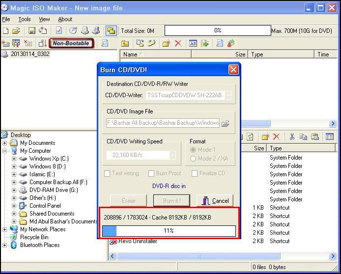 ISO Cd Write 03