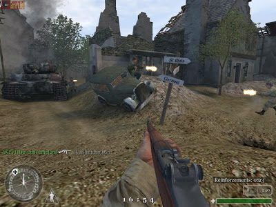 Call FO Duty 1 Screen