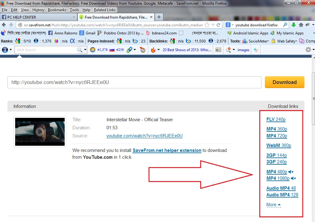 youtube video download 3