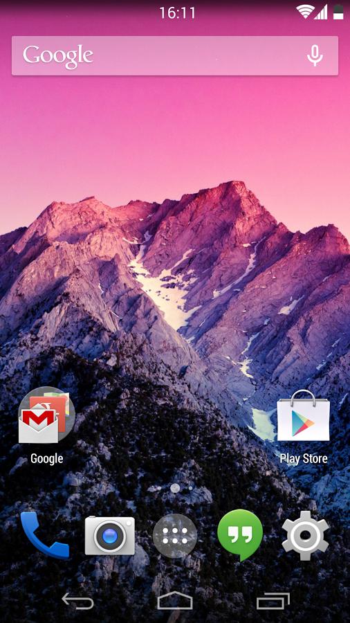 Android 4.4 KitKat Theme 1