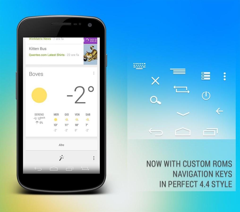 Android Kitkat 4.4 CM10 Theme 1