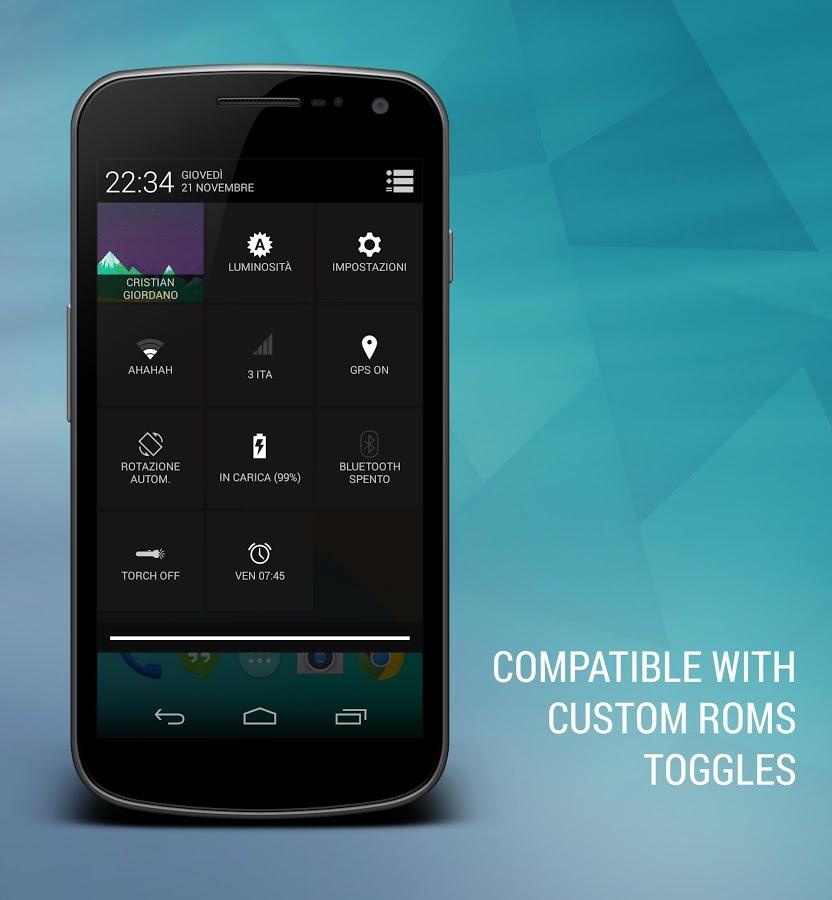 Android Kitkat 4.4 CM10 Theme 3