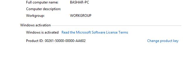 Windows 8.1 Active