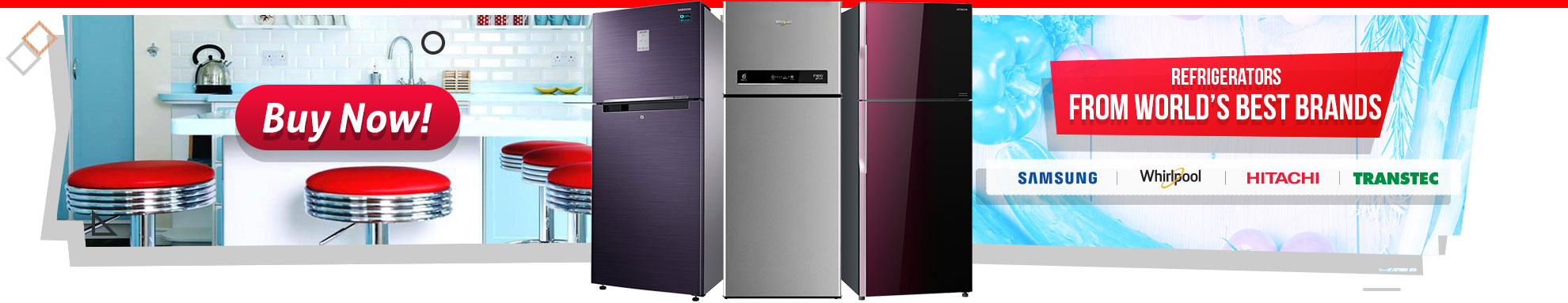 Freezer and Fridge Transcom digital bd