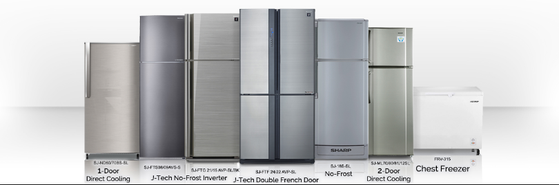 Different types of fridge in bd