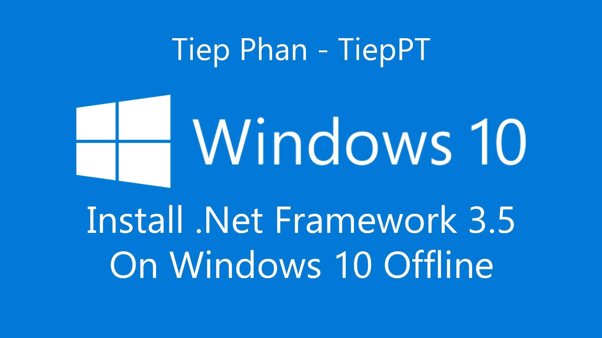 net framework in windows 10
